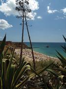 Stock Photo of picturesque beaches of the algarve