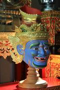 Ascetic of Thailand. (The Mask) Stock Photos
