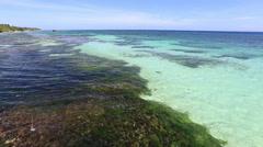 Beach in Anda, Bohol island, Philippines Stock Footage