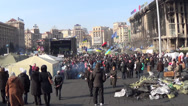 Stock Video Footage of Ukraine, Kiev, the revolution