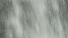 Close-up of Waterfall Water Falling Down Stock Footage