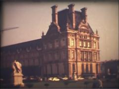 Paris, France 1970s - Super 8mm film 5.  Archival, archive. Stock Footage