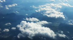 over thialand sky - stock footage