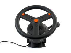 Tietokone ohjauspyörä - stock photo