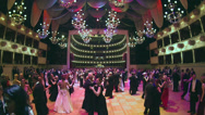 Stock Video Footage of Waltzer dancing people at the Viennese opera ball