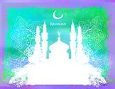 Stock Illustration of ramadan kareem card
