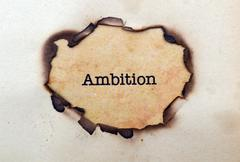 Stock Photo of ambition