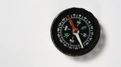 Compass headings Stock Footage