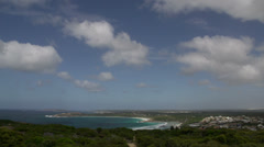 Clouds Time lapse from Rotary Lookout great ocean drive Stock Footage