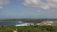 Stock Video Footage of Pan from Rotary Lookout great ocean drive Esperance australia