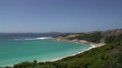 Blue Haven in Great Ocean Drive, Esperance, Western Australia Stock Footage