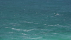 Zoom out from the Observatory Point at the Great Ocean Drive Stock Footage