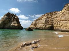 Stock Photo of beach of praia da rocha in portimao, algarve