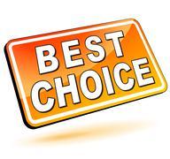 best choice 3d - stock illustration