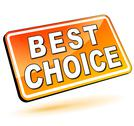 Stock Illustration of best choice 3d