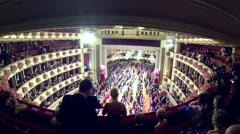 Vienna Opera Ball Stock Footage