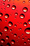 Red bubbles Stock Photos