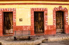 Mexican towns - stock photo