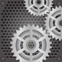 Stock Illustration of gears background
