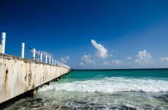 Mexican caribbean - stock photo