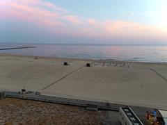 one of the most beautiful beaches in the world - praia da rocha in portimao, - stock photo