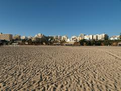 Beach of praia da rocha in portimao, algarve Stock Photos
