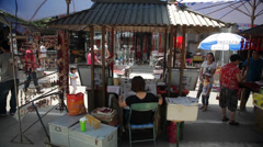 Antique Market of china Stock Footage