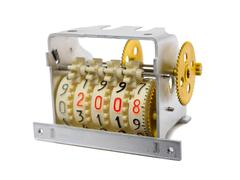 Counter - numbers 2008 - stock photo
