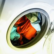 Clothes in laundry Stock Photos