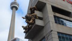Rogers Centre & CN Tower Stock Footage