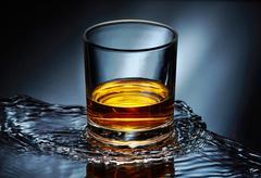 Whiskey glass Stock Photos