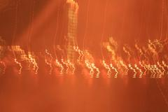 Abstract - moving light - stock photo