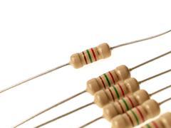 resistors - stock photo
