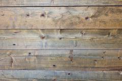 Horizontal worn plank wall Stock Photos