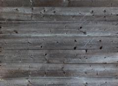 Old horizontal black plank wall Stock Photos