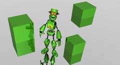 Robots - stock photo
