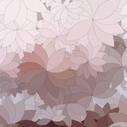 background of the abstract flowers and petal - stock illustration