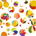 Stock Illustration of bright pattern of circles and dots