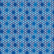 vector geometric pattern - stock illustration