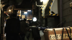 Back Alley in Japan - stock footage