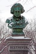 Stock Photo of Statue of Ludwig van Beethoven