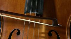 4K Cello 3 Stock Footage