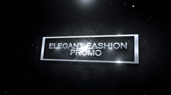 Dark Fashion Promo Stock After Effects