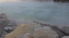 Beitou hot springs Thermal Valley sunny Stock Footage