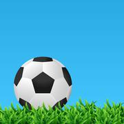 Stock Illustration of soccer ball vector illustration