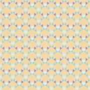 seamless geometric background of angular elements - stock illustration