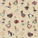Stock Illustration of abstract turkey bird, chicken and pigeon