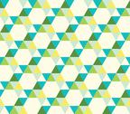 Stock Illustration of seamless pattern of triangles