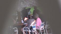 Hotel bar Stock Footage