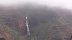Waimea Canyon Stock Footage